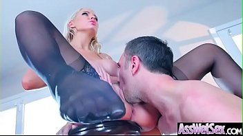 Hard Deep Anal Sex Tape With Big Butt Sexy Horny Girl (Kenzie Taylor) video-22