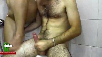 Hard on the shower. MILF caught with a hidden spycam by a voyeur RAF318