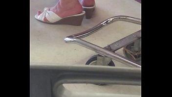 mature plumper feet
