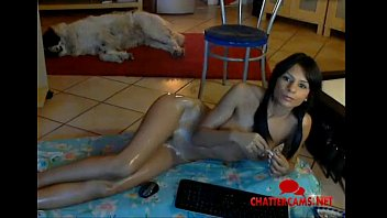 sizzling lubed latina tall pocahontas -.