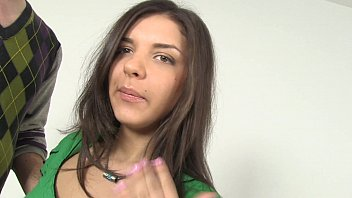 Lovely russian with perfect tits fucks in amateur video