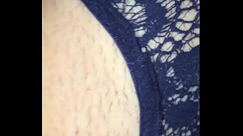 Undercover wifes see through panties