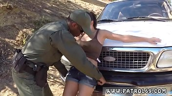 police chick gargle and police gal lesbo latina.