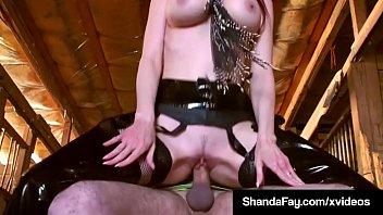 canadian cowgirl shanda fay rails her pony until.