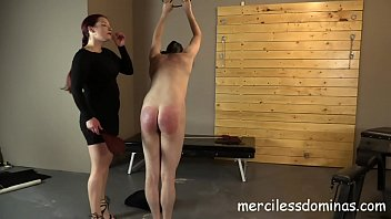 spanked - painful combine of lashing paddling and lashing