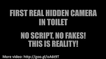 real covert spy public pee bio restroom toilets.